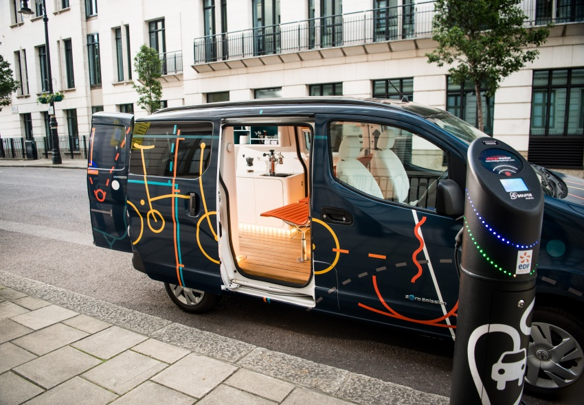 Nissan e-NV200 Workspace – the future of the office? Image #570281