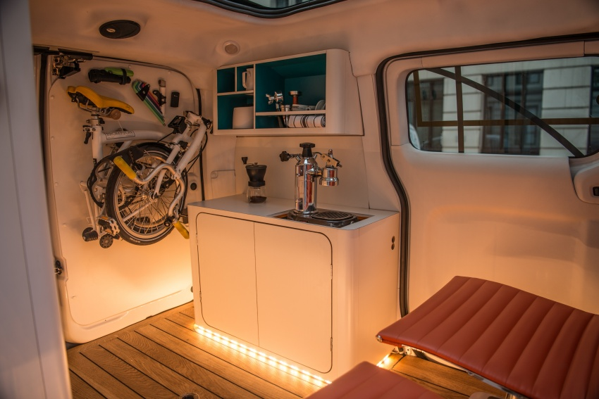 Nissan e-NV200 Workspace – the future of the office? Image #570282