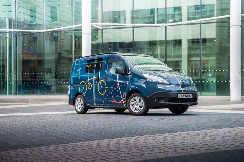 Nissan e-NV200 Workspace – the future of the office? Image #570283