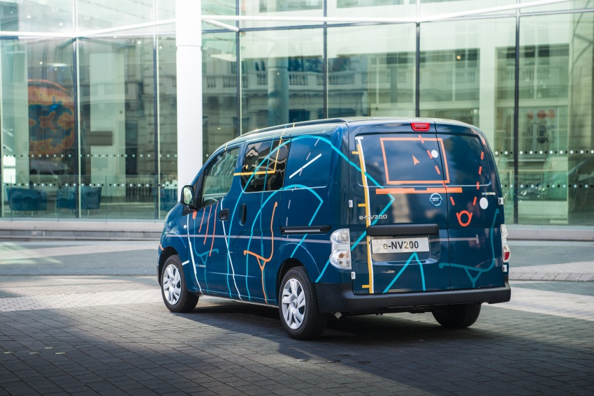 Nissan e-NV200 Workspace – the future of the office? Image #570285
