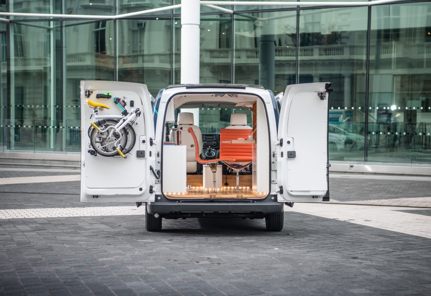 Nissan e-NV200 Workspace – the future of the office? Image #570287