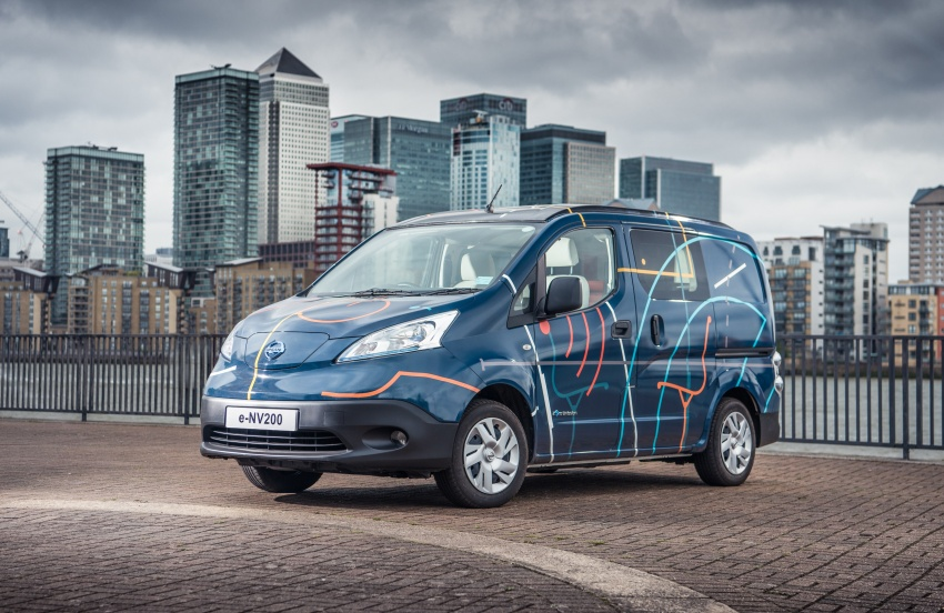 Nissan e-NV200 Workspace – the future of the office? Image #570288