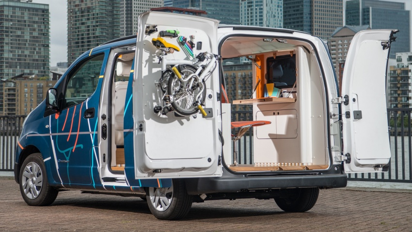 Nissan e-NV200 Workspace – the future of the office? Image #570290