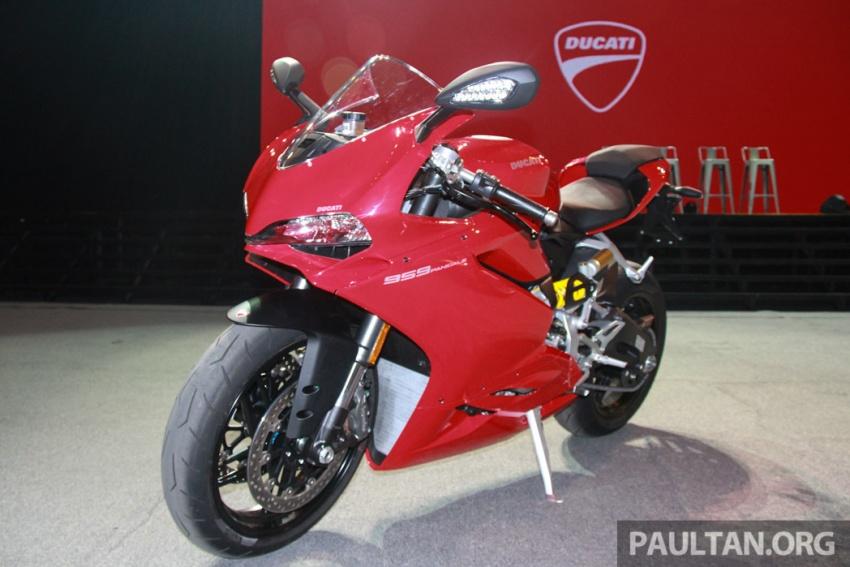 Ducati Panigale 959 tiba di M'sia – harga RM100k Image #567391