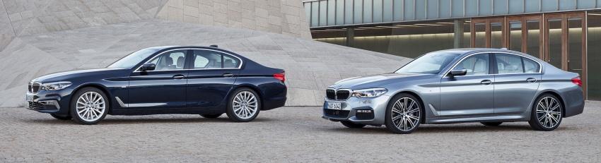 G30 BMW 5 Series diperkenal – di pasaran Feb 2017 Image #563254