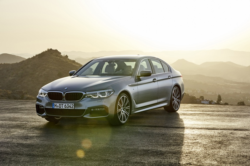 G30 BMW 5 Series unveiled – market debut in Feb 2017 Image #562872