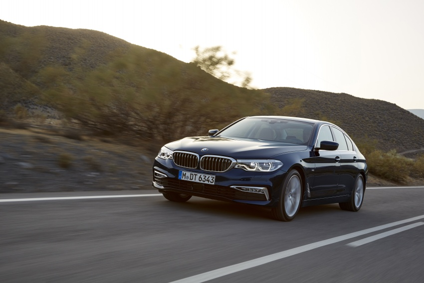 G30 BMW 5 Series unveiled – market debut in Feb 2017 Image #562968