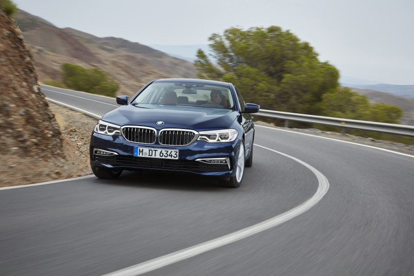 G30 BMW 5 Series unveiled – market debut in Feb 2017 Image #562970