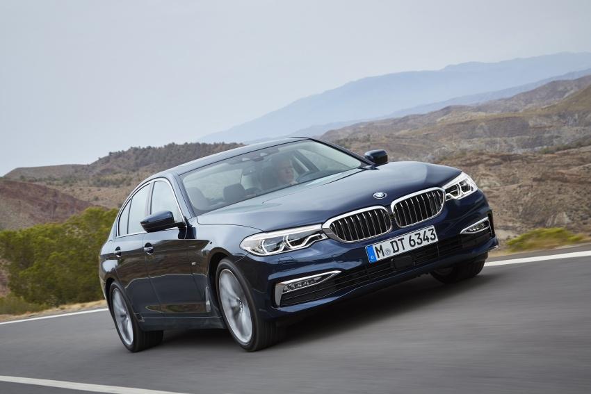 G30 BMW 5 Series diperkenal – di pasaran Feb 2017 Image #563255