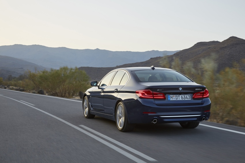 G30 BMW 5 Series diperkenal – di pasaran Feb 2017 Image #563256