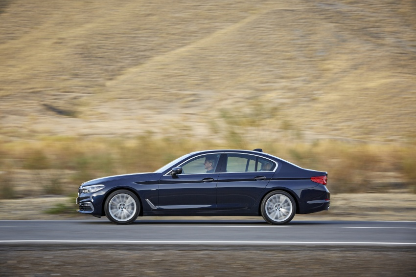 G30 BMW 5 Series unveiled – market debut in Feb 2017 Image #562973