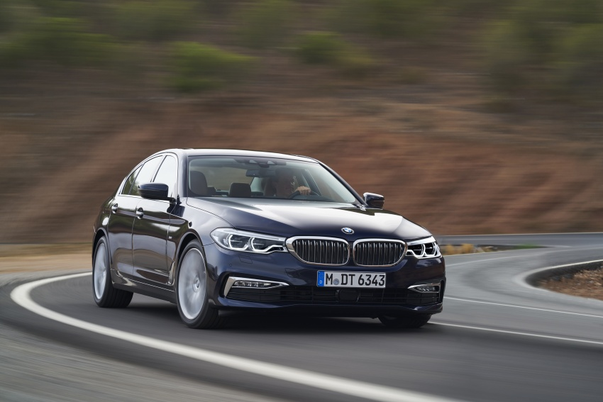 G30 BMW 5 Series unveiled – market debut in Feb 2017 Image #562974