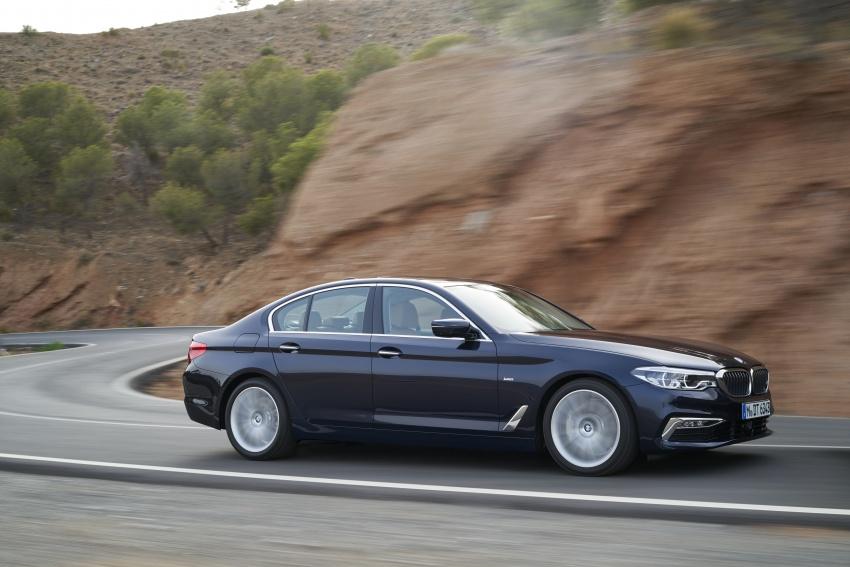 G30 BMW 5 Series diperkenal – di pasaran Feb 2017 Image #563259