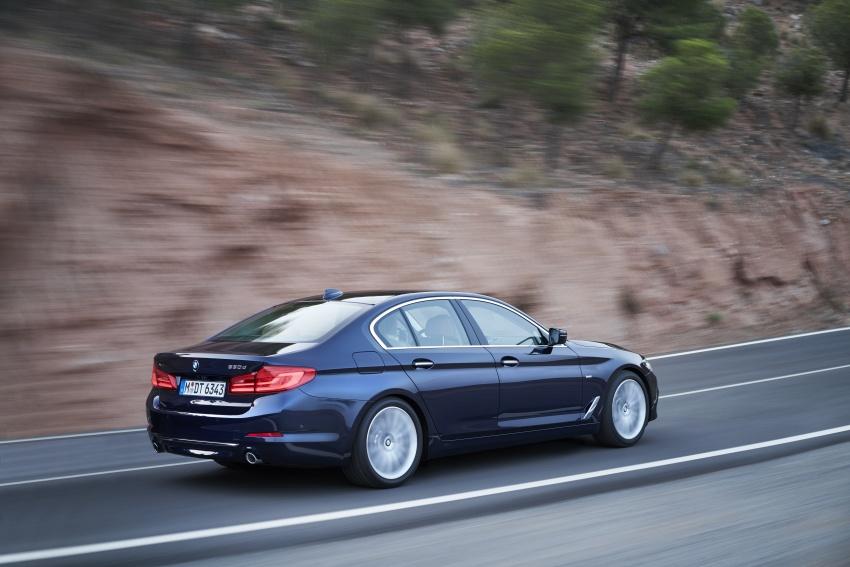 G30 BMW 5 Series diperkenal – di pasaran Feb 2017 Image #563260