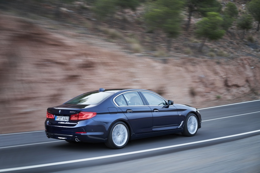 G30 BMW 5 Series unveiled – market debut in Feb 2017 Image #562976