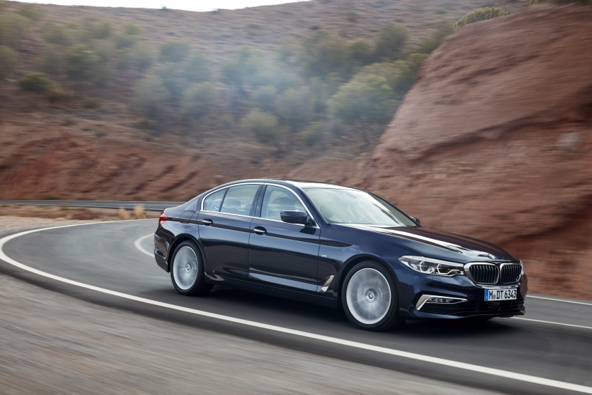G30 BMW 5 Series unveiled – market debut in Feb 2017 Image #562977