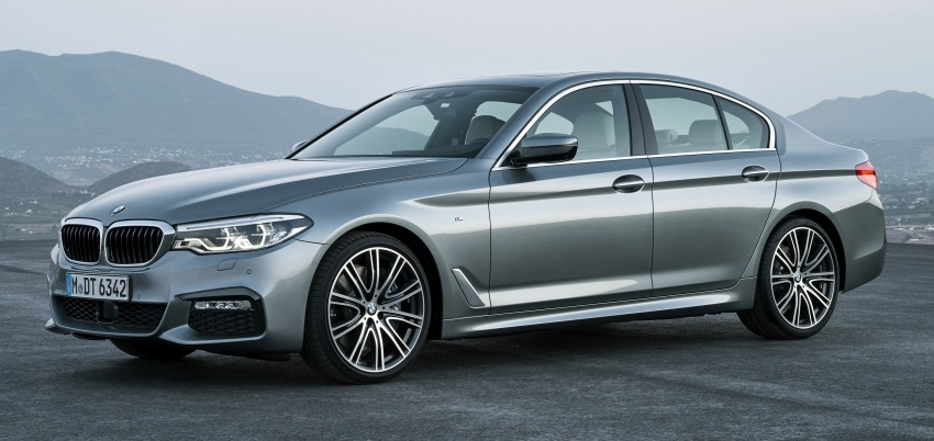 G30 BMW 5 Series unveiled – market debut in Feb 2017 Image #562874