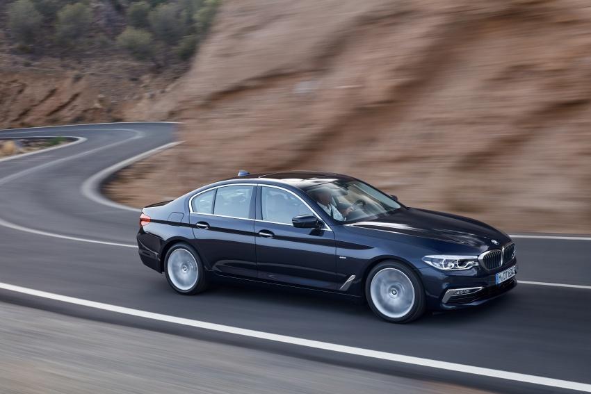 G30 BMW 5 Series diperkenal – di pasaran Feb 2017 Image #563261