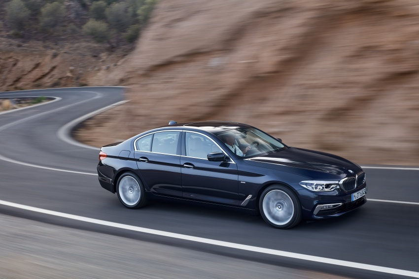 G30 BMW 5 Series unveiled – market debut in Feb 2017 Image #562978