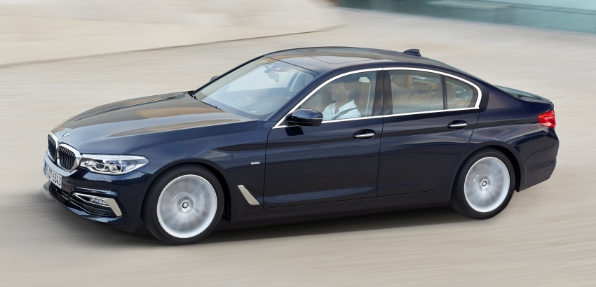 Bmw 5 Series 2016 >> G30 BMW 5 Series unveiled – market debut in Feb 2017 Paul Tan - Image 562979