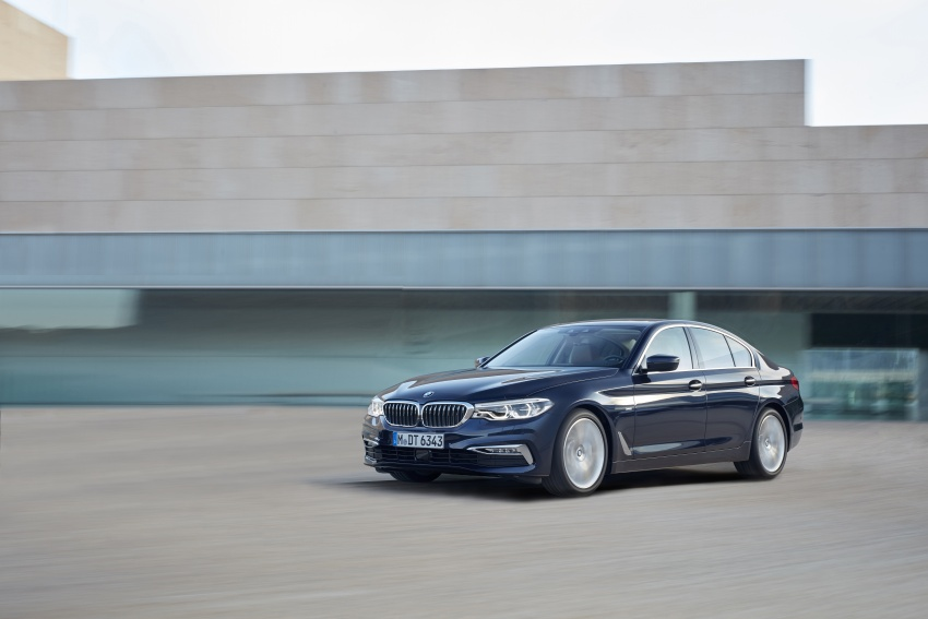 G30 BMW 5 Series unveiled – market debut in Feb 2017 Image #562980