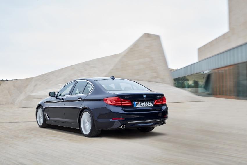 G30 BMW 5 Series diperkenal – di pasaran Feb 2017 Image #563263