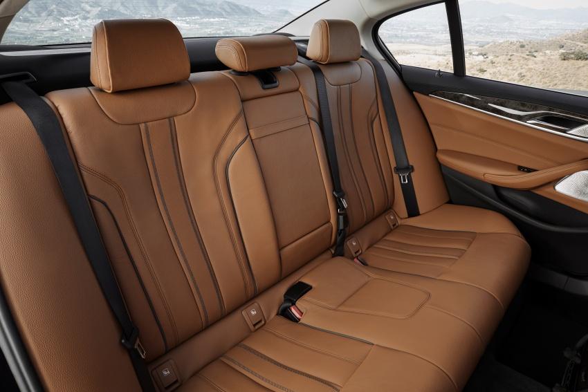 G30 BMW 5 Series diperkenal – di pasaran Feb 2017 Image #563264