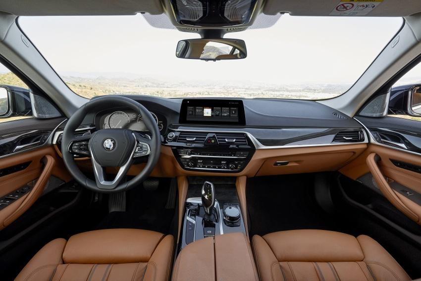 G30 BMW 5 Series diperkenal – di pasaran Feb 2017 Image #563269