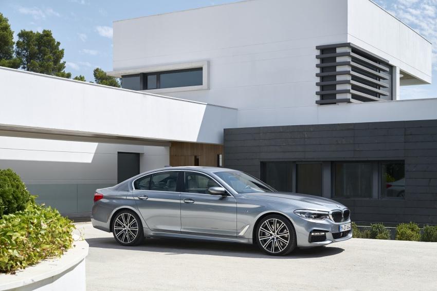G30 BMW 5 Series diperkenal – di pasaran Feb 2017 Image #563241