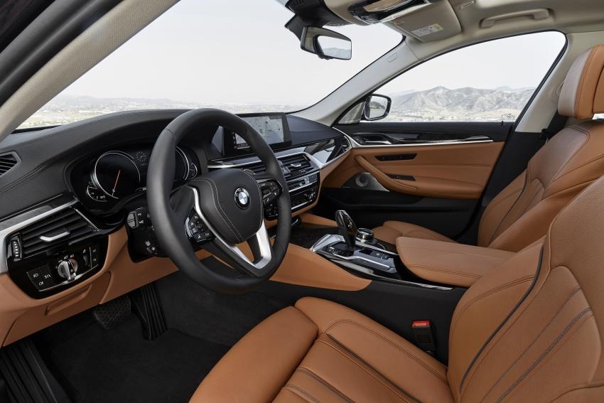 G30 BMW 5 Series diperkenal – di pasaran Feb 2017 Image #563270