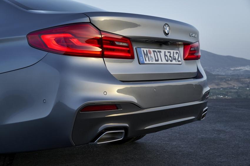 G30 BMW 5 Series diperkenal – di pasaran Feb 2017 Image #563273