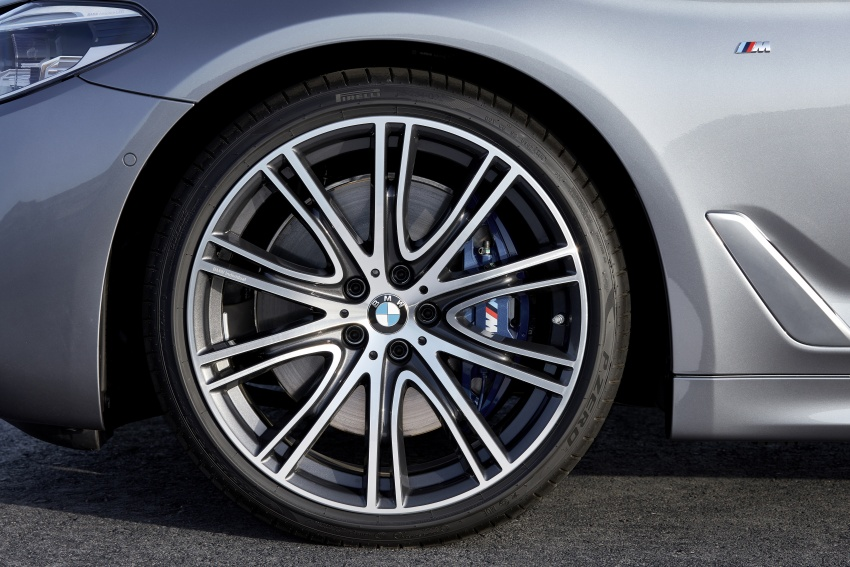 G30 BMW 5 Series unveiled – market debut in Feb 2017 Image #562992