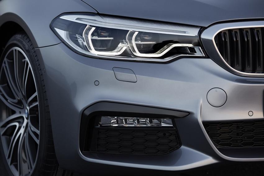G30 BMW 5 Series diperkenal – di pasaran Feb 2017 Image #563276