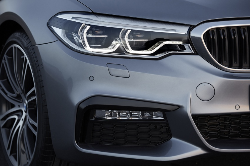 G30 BMW 5 Series unveiled – market debut in Feb 2017 Image #563003