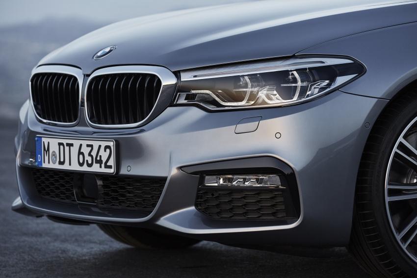 G30 BMW 5 Series diperkenal – di pasaran Feb 2017 Image #563277