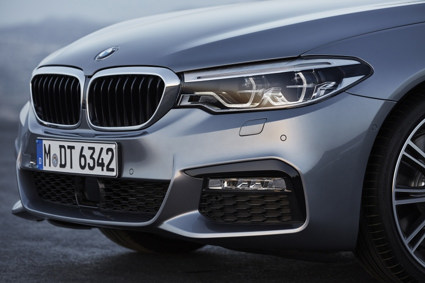 G30 BMW 5 Series unveiled – market debut in Feb 2017 Image #563006