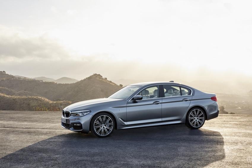 G30 BMW 5 Series diperkenal – di pasaran Feb 2017 Image #563240