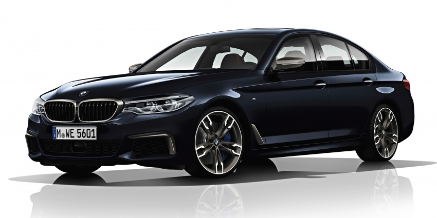 G30 BMW 5 Series unveiled – market debut in Feb 2017 Image #563021