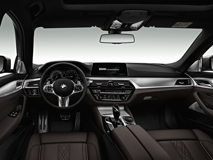 G30 BMW 5 Series unveiled – market debut in Feb 2017 Image #563023
