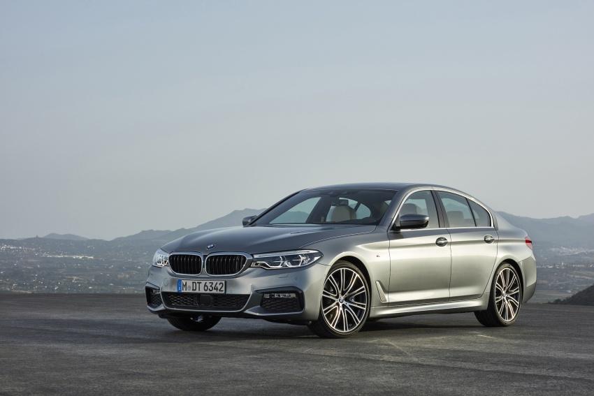G30 BMW 5 Series diperkenal – di pasaran Feb 2017 Image #563238