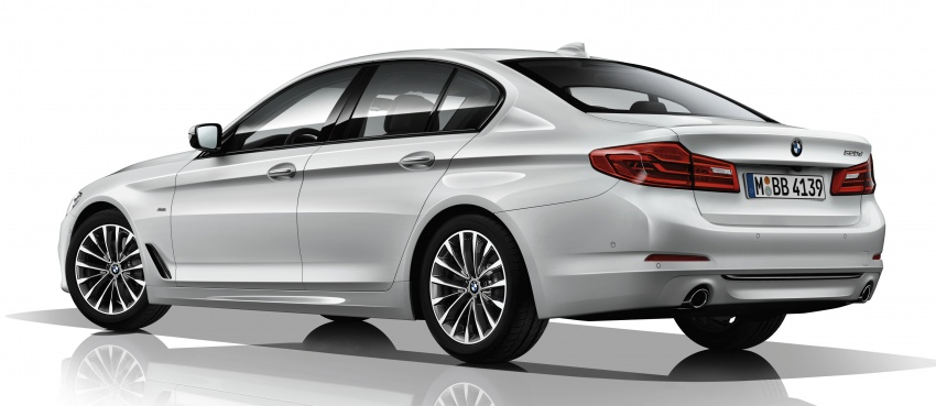 G30 BMW 5 Series unveiled – market debut in Feb 2017 Image #563030