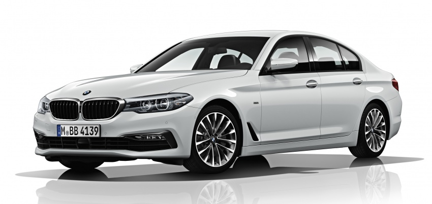 G30 BMW 5 Series unveiled – market debut in Feb 2017 Image #563031