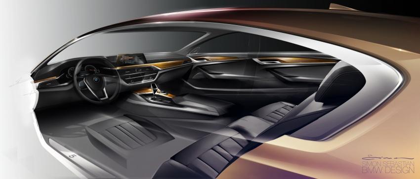 G30 BMW 5 Series diperkenal – di pasaran Feb 2017 Image #563170