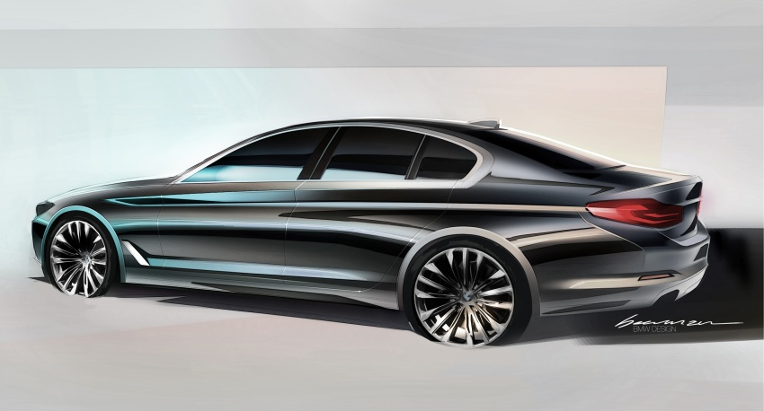 G30 BMW 5 Series unveiled – market debut in Feb 2017 Image #563044