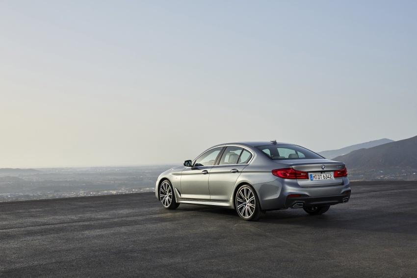G30 BMW 5 Series diperkenal – di pasaran Feb 2017 Image #563237