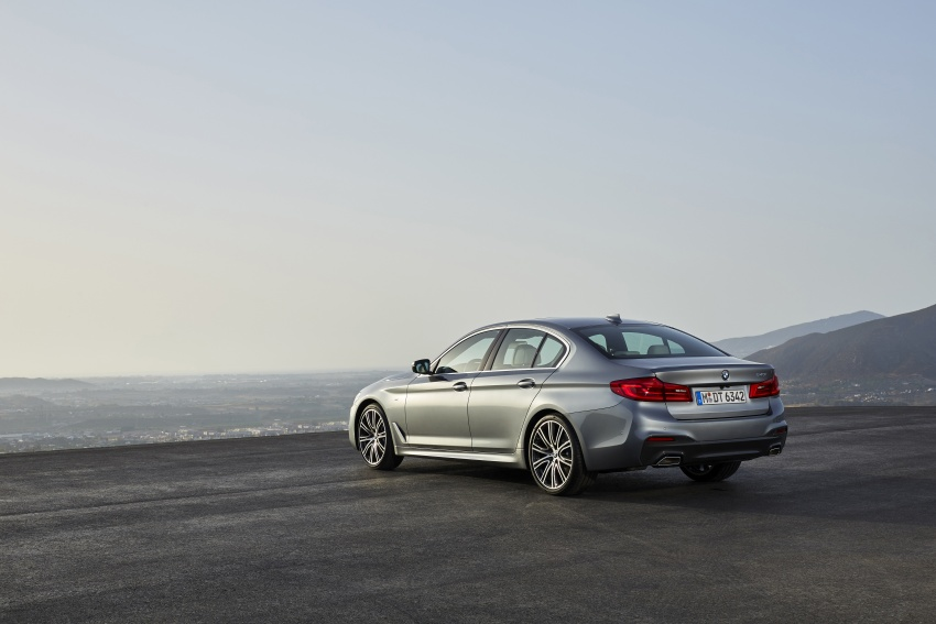 G30 BMW 5 Series unveiled – market debut in Feb 2017 Image #562880