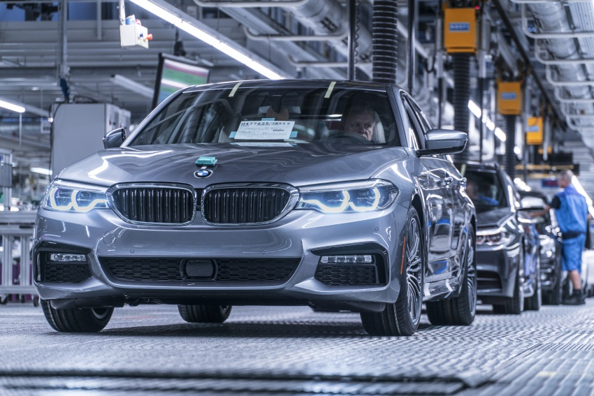 G30 BMW 5 Series unveiled – market debut in Feb 2017 Image #563063