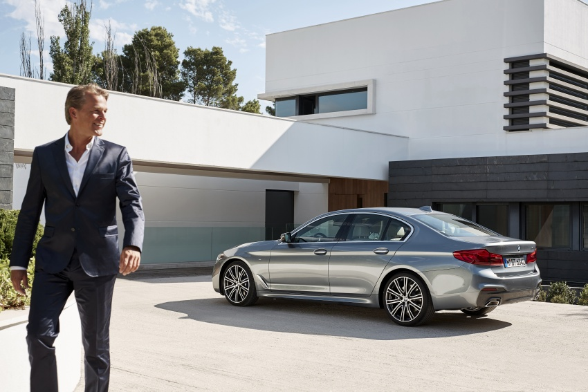 G30 BMW 5 Series unveiled – market debut in Feb 2017 Image #562881
