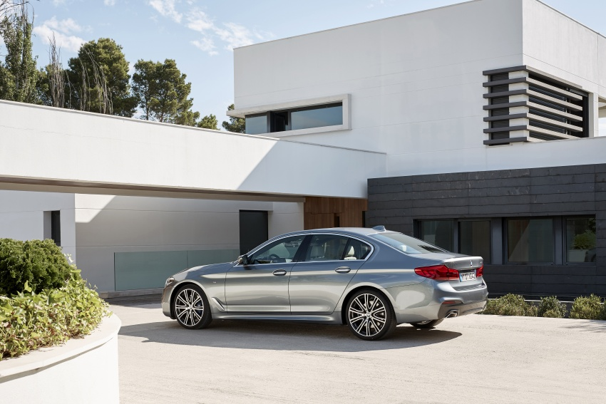 G30 BMW 5 Series unveiled – market debut in Feb 2017 Image #562882