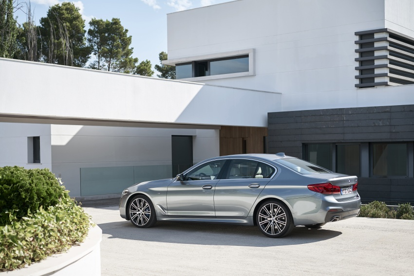 G30 BMW 5 Series unveiled – market debut in Feb 2017 Image #562883